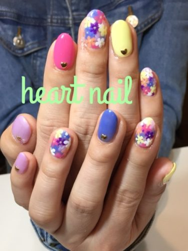 お花畑nail